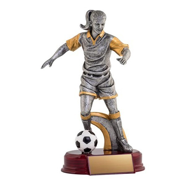 Trophée Soccer Femme RA1723