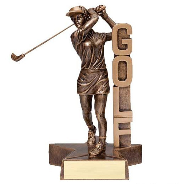 Trophée Golf Femme RST208