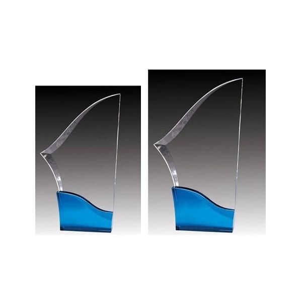 Acrylic Trophy ACG645C-BU