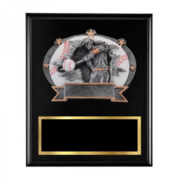 Baseball Plaque H3600-5-K