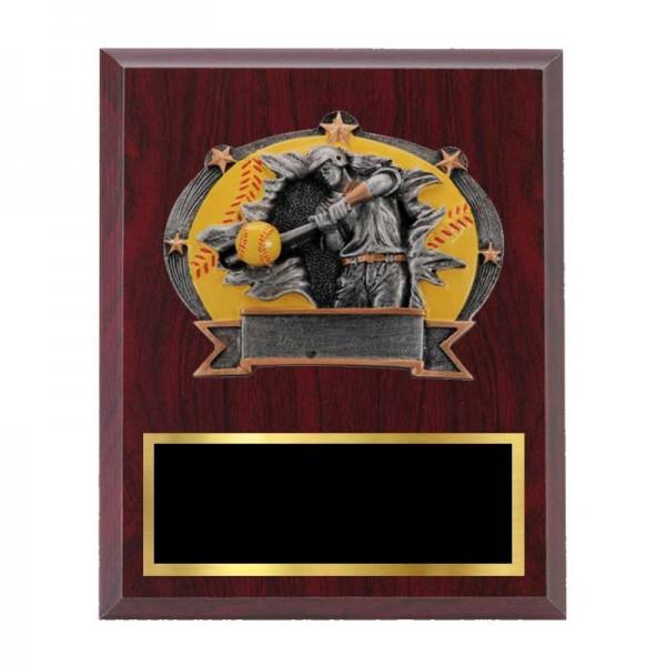 Plaque Softball H-3601-5-C