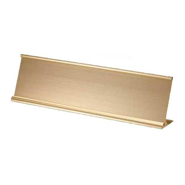 Gold Desk Name Holder NPH13-G