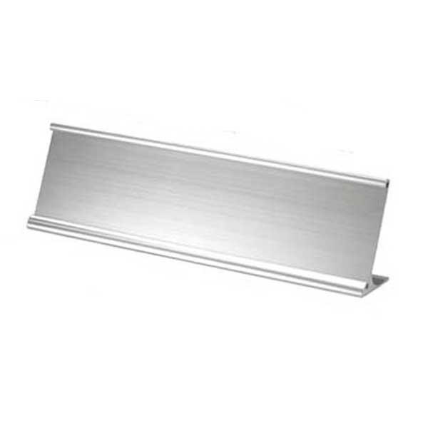 Silver NamePlate Holder NPH13-S