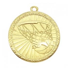 Médaille Or Basketball MSB1003G
