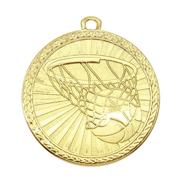 Médaille Or Basketball MSB1003G