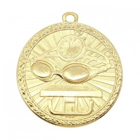 Médaille Or Natation MSB1014G