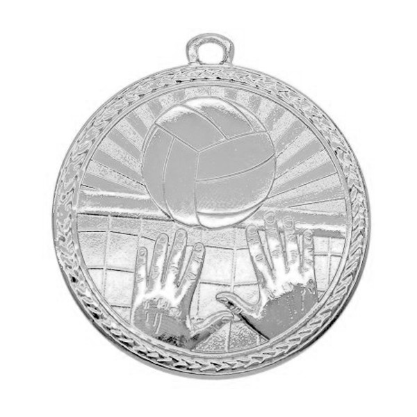 Volleyball Argent Medals MSB1017S