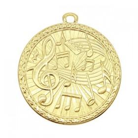 Médaille Or Musique MSB1030G