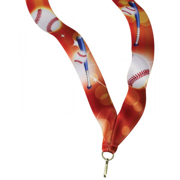Baseball Neck Ribbon RBS-7202
